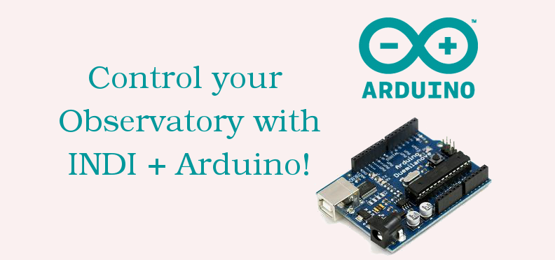 Arduino for yourobservatory.