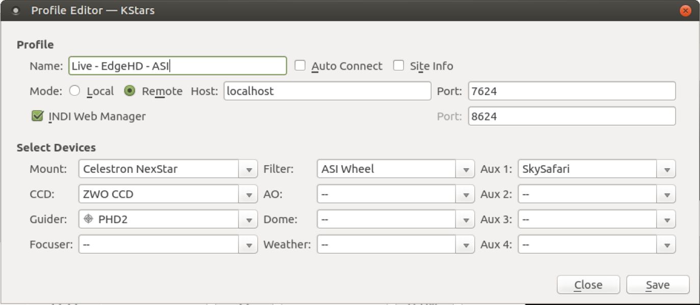 Trouble Connecting ZWO/ASI EFW Wheel - INDI Forum