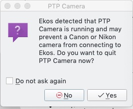 PTP vs Canon DSLR - INDI Forum